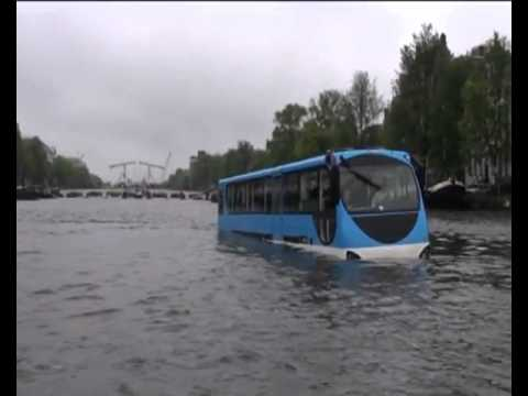 Busboat the Floating Dutchman, a new way to discover Amsterdam