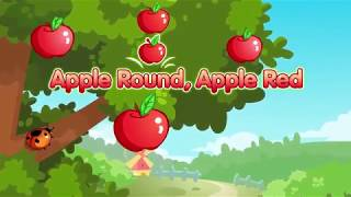 Gambar cover Apple Round, Apple Red Sing Along for Children & ESL Students