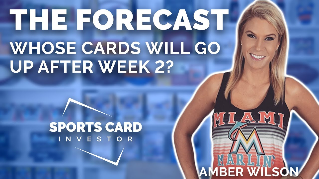 THE FORECAST: Football Cards That Could Increase in Value After Week 2!
