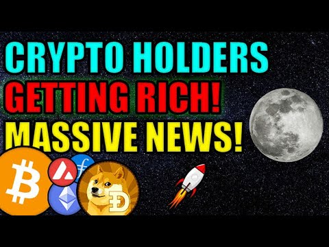 Cryptocurrency Holders are GETTING RICH! MAJOR NEWS for ETHEREUM, BITCOIN, FILECOIN,&DOGE!