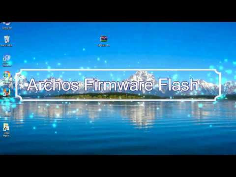 How To Flashing Archos Firmware (Stock ROM) Using Smartphone Flash Tool