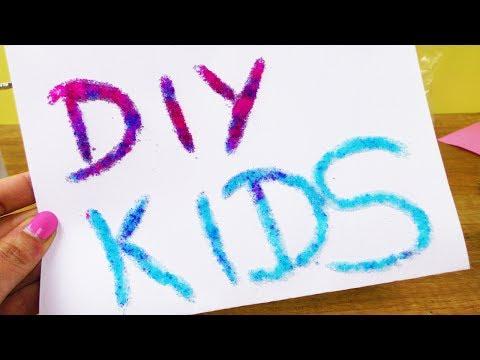 SCHREIBEN mit GLIBBI?! Neues Experiment DIY FUN für Kids | Glibbi Bild Geschenk