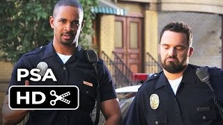 Let's Be Cops PSA - Rap Lyrics (2014) - Jake Johnson, Damon Wayans Jr. Movie HD