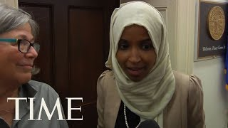 Ilhan Omar Responds To Trump's Latest Jabs At Her | TIME