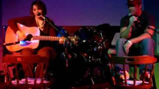 Kyle Doup (vocals) and Sylvie Macdonald (acoustic guitar)...send an...