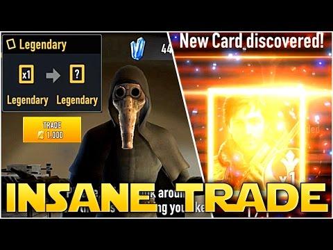 Star Wars Force Arena - INSANE LEGENDARY CARD TRADE - BEST LEADER IN GAME