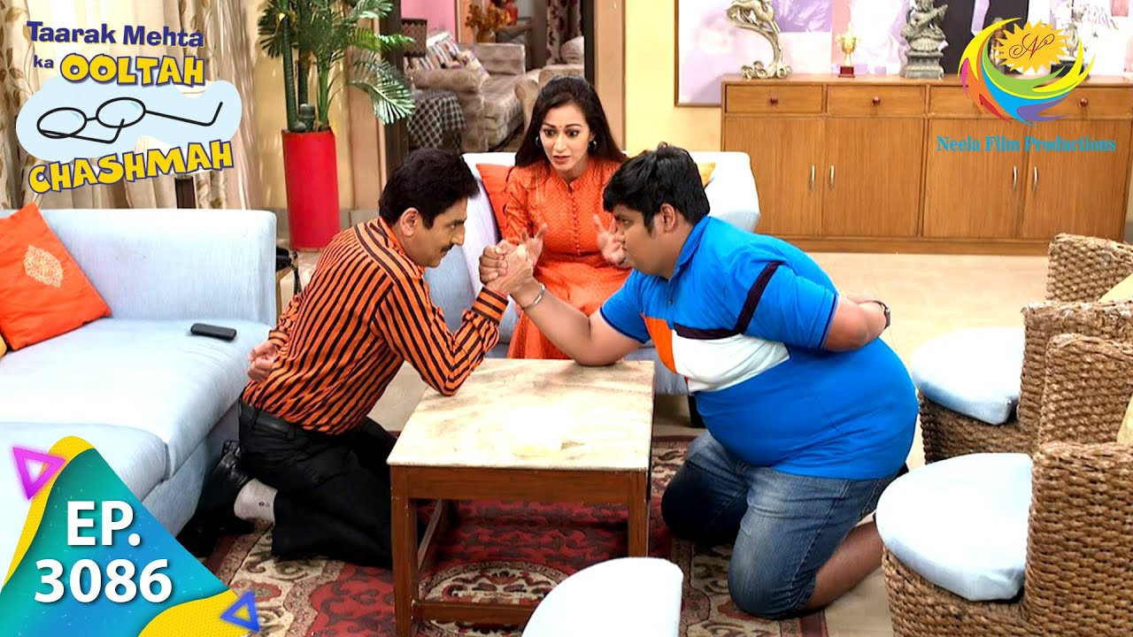Download Taarak Mehta Ka Ooltah Chashmah - Ep 3086 - Full Episode - 22nd January, 2021