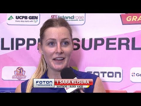 Match MVP: Sara Klisura | Chooks-to-Go PSL Grand Prix 2017