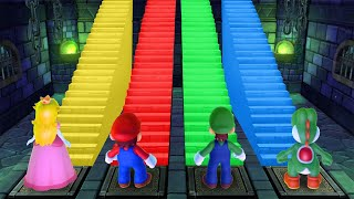 Mario Party 10 MiniGames - Mario Vs Peach Vs Yoshi Vs Luigi (Master Cpu)