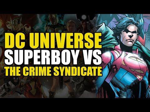 Superboy vs The Crime Syndicate (Superman Universe: Unity Saga Part 3)