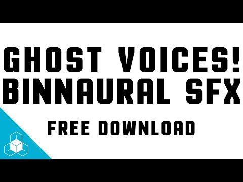 GHOST VOICE SFX (Binaural!) - Daily FREE Sound Effects