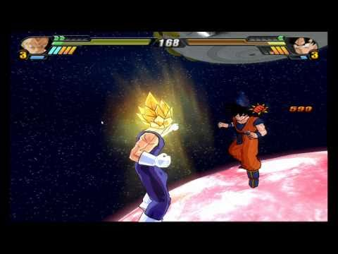 Dragon Ball Z Budokai Tenkaichi 3 WII on Dolphin r6505 FULL SPEED