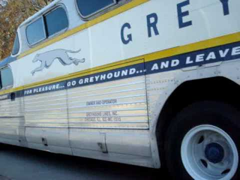 PD4501-771 GMC Greyhound Scenicruiser video#1