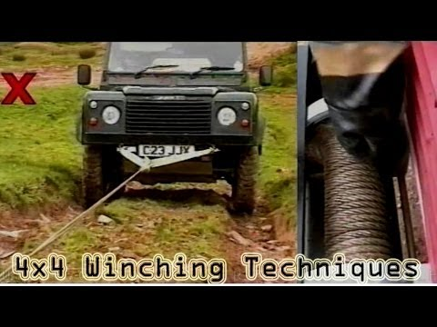 4x4 THE BASIC GUIDE TO WINCHING TECHNIQUES