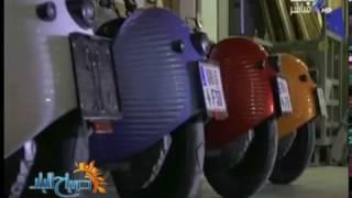 بالفيديو.. تعرف علي أول دراجة نارية كهربائية