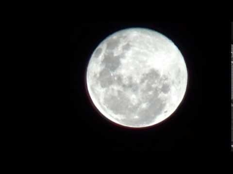 Preciosa luna llena de hoy bienvenido el invierno youtube for Hoy hay cambio de luna