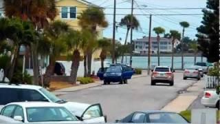 № 1360 США Октябрь Пляж на острове Saint Pete Florida USA