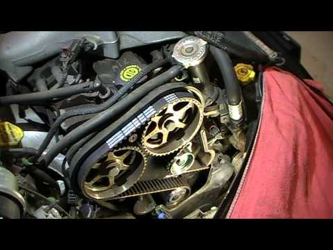 Time Lapse 2004 Chrysler Pt Cruiser 2 4 Turbo Timing Belt And Water Pump Installation