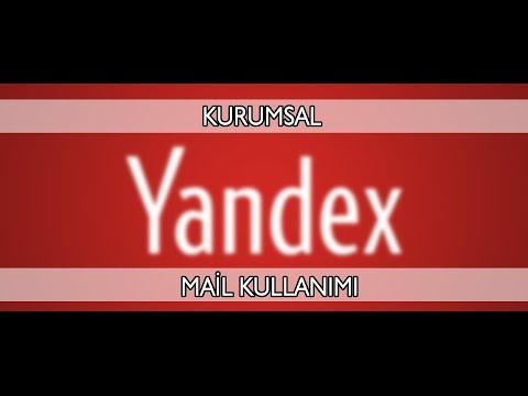 Yandex Kurumsal Mail Kurulumu ve Ayarları