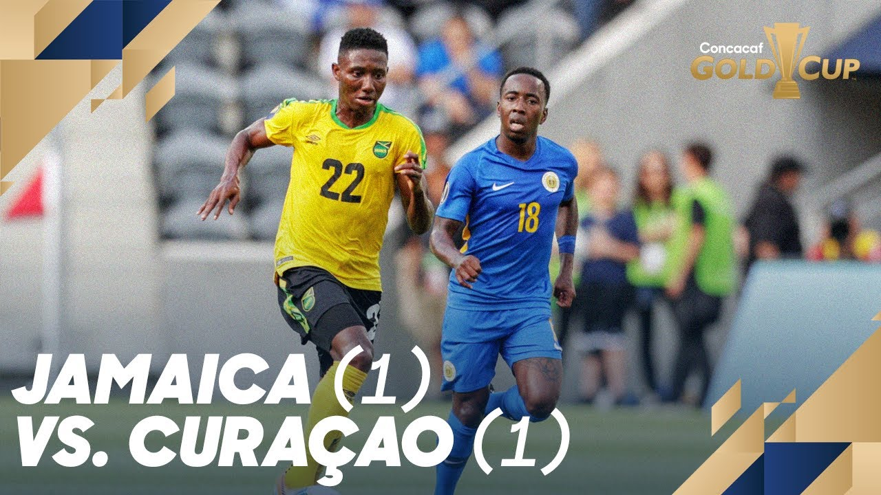 low priced 134a6 dad8b Jamaica (1) vs. Curaçao (1) - Gold Cup 2019
