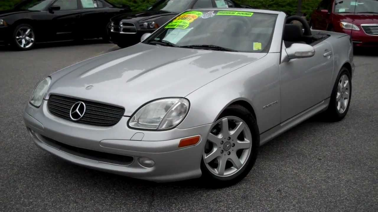 2003 mercedes benz slk 230 roadster at troncalli chrysler jeep dodge in cumming ga youtube. Black Bedroom Furniture Sets. Home Design Ideas