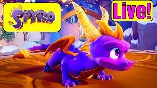 SPYRO REIGNITED TRILOGY XBOX ONE X LIVE! Spyro Remastered Xbox One | Spyro Xbox One X Gameplay