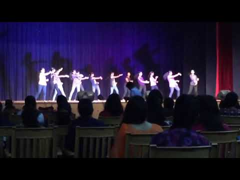 Adichunchanagiri institute of medical science dance 1 (girls)