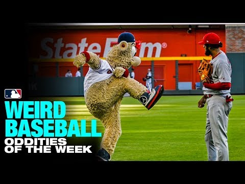 Jose Martinez and Blooper top this week's Weird Baseball (5/15 to 5/21)