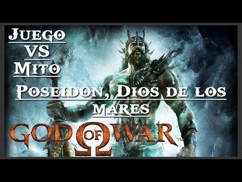 God of War || Juego VS Mito || Poseidón, dios de los mares