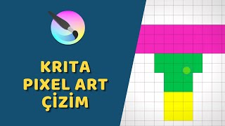 Krita - Piksel Resim Oluşturma (Pixel Art)