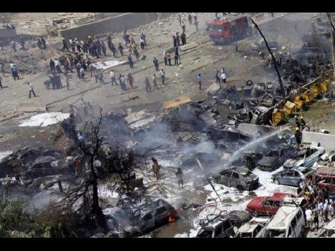 Baghdad: Double Bomb Attack hits Al Sinak market   Iraq