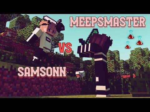 SamsonN Vs MeepsMaster(Metin) / Güç İksiriyle Vs Gelen REZİL !!!