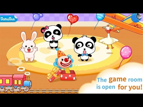 My Kindergarten Panda Games BabyBus Educational Android İos Free Game GAMEPLAY VİDEO