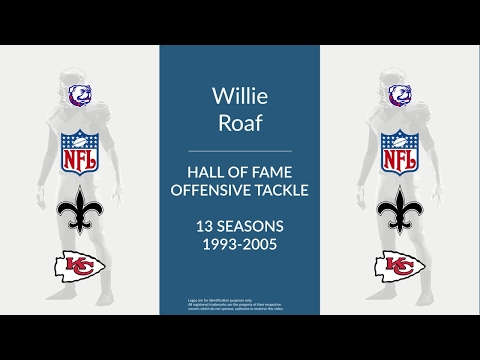 Willie Roaf: Hall of Fame Football Offensive Tackle