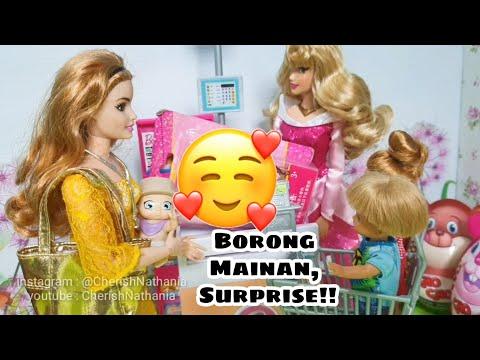 Boneka Barbie Cantik Borong Mainan Surprise Toys Video Cerita Dongeng Anak Barbie Bahasa Indonesia L