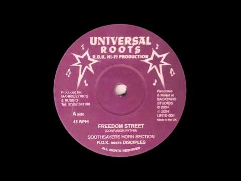 10'' RDK meets The Disciples - Freedom Street (& dub)