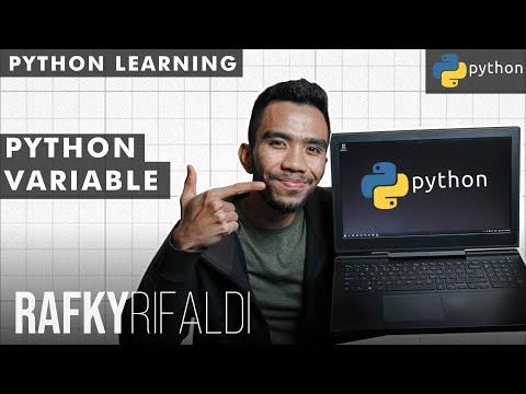 Python Tutorial - Variables | Bahasa thumbnail