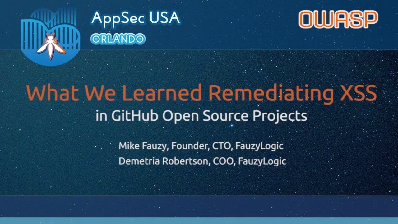 What We Learned Remediating XSS in GitHub Open Source Projects