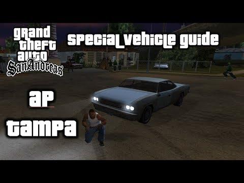 GTA: San Andreas - Special Vehicle Guide - AP Tampa