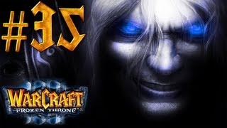 Warcraft 3 The Frozen Throne Walkthrough - Part 35 - Into the Shadow Web Caverns