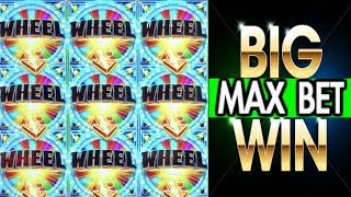 ★ MAX BET ★ HUGE WIN ON AINSWORTH SLOT 💥SLOT QUEEN GETS THE WHEEL 🎡