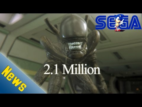 Sega posted net losses of ¥11.26 billion Alien Isolation ships 2.1 Million
