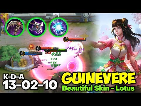 Late Game? Insane!! New Guide Guinevere Top Global Mobile Legends 10292019