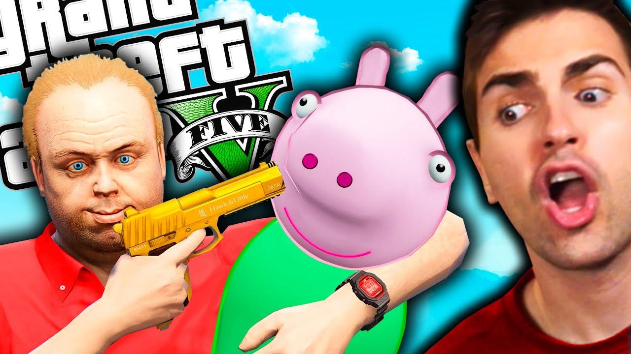 SECUESTRAN A PEPPA PIG en GTA 5 !! *¿Vale la pena salvarla?* FINAL ÉPICO - GTA V MODS