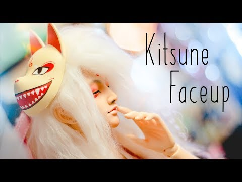BJD   Kitsune Faceup   Subtitled