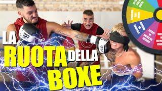 LA RUOTA DELLA BOXE con Mattia Faraoni | (Sparring da bendato, subisci un calcio in faccia ecc..)