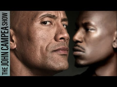 Dwayne Johnson / Tyrese Drama Impacts Fast And Furious 9 - The John Campea Show