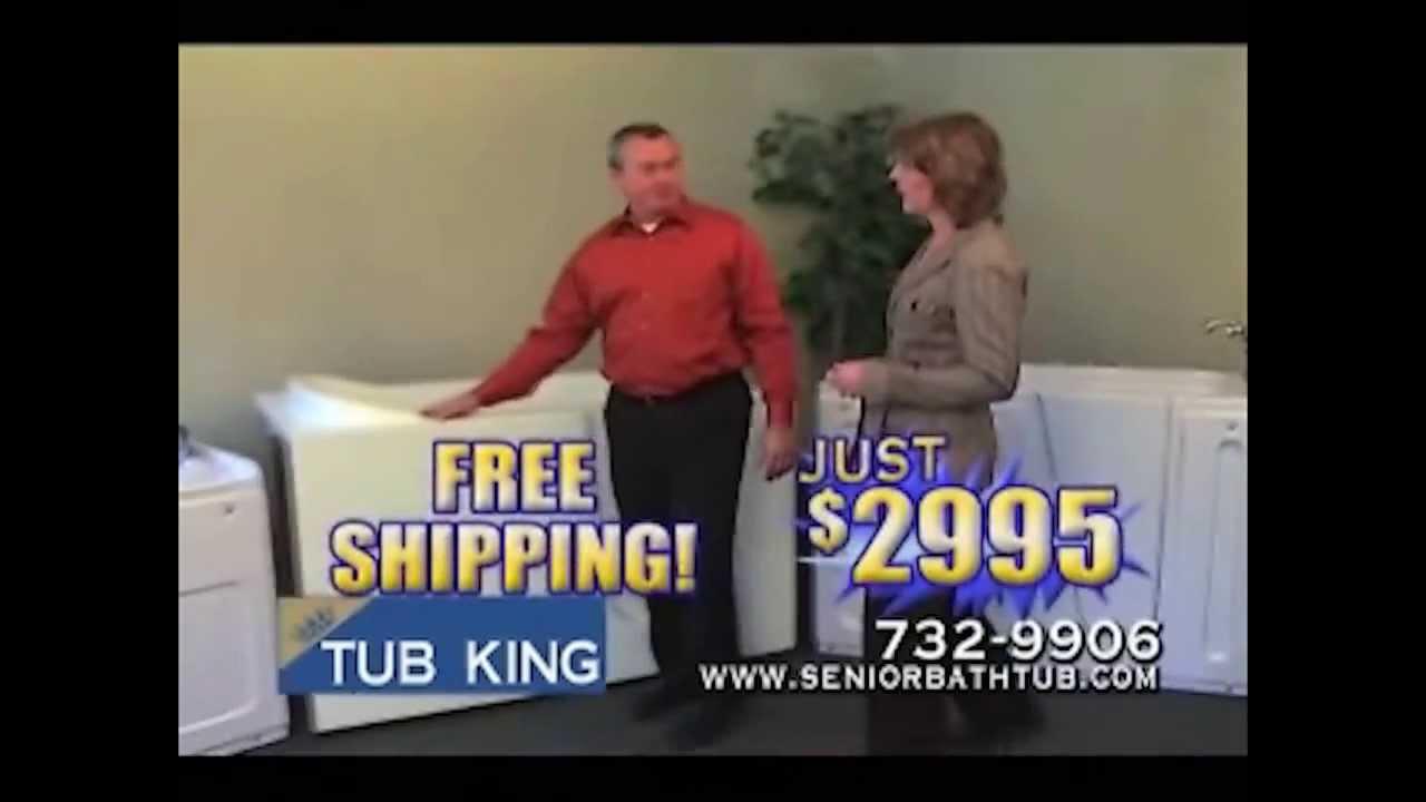Tub King Walk In Tubs. Tub King Walk in Bathtubs  YouTube