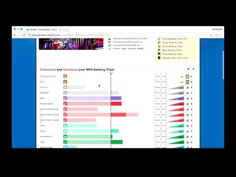 KARAOKE-VERSION ( Tutorial ) Site para Multitracks 😎🎹