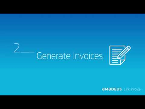 Tutorial How to generate an invoice with Amadeus Link Invoice - YouTube